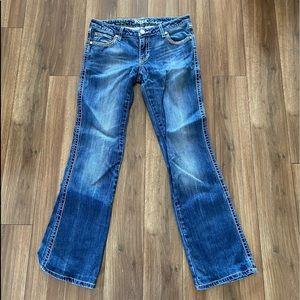 Wrangler Rock 47 by Wrangler Ultra Low Rise Jeans